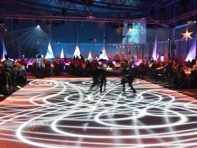 Animation patin à glace lors de la soirée de Gala du Congrès SEMICON