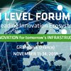 High Level Forum, innovation for tomorrow's infrastructures