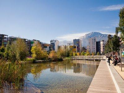 Eco-quartier Caserne de Bonne Grenoble