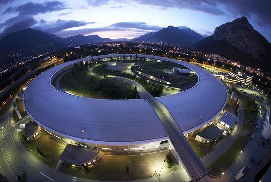 Le synchrotron européen ©ESRF